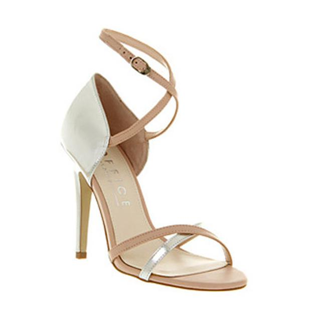Kinetic strappy nude sandal £65 Office.co.uk