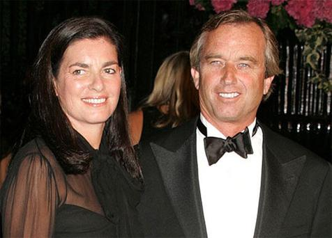 Mary Richardson Kennedy pictured with her husband Robert F. Kennedy Jr
