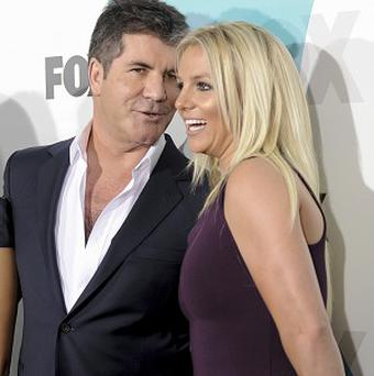 Simon Cowell said he was 'not at all' worried about Britney Spears doing live TV