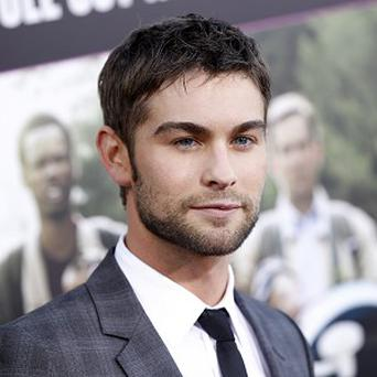 Chace Crawford likes bonding with his young nephew, but is not ready for his own kids just yet
