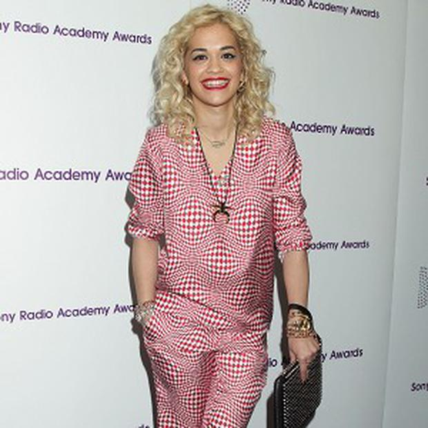 Rita Ora was spotted dining out with the Kardashians