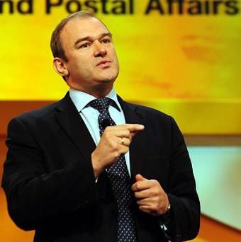 Energy Secretary Edward Davey was sat upon by his Cabinet colleague Charles Hendry