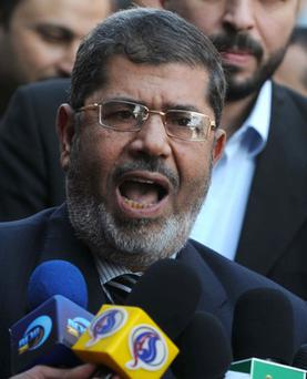 Mohammed Morsi. Photo: Getty Images