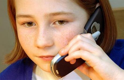 A new phone system promises to give parents 'total control'. Picture posed
