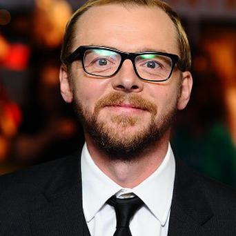 Simon Pegg will reportedly play a psychiatrist searching for the secret to real happiness