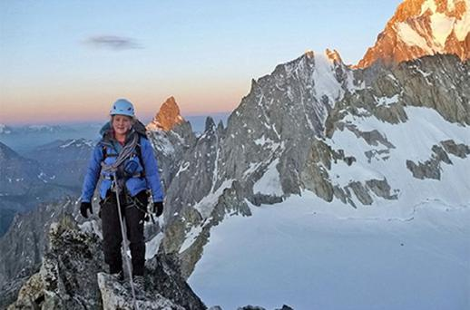 Student Mollie Hughes, 21, from Bristol, who has become the youngest woman to climb Mount Everest