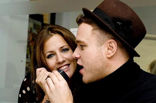 Caroline Flack and Olly Murs who are to return as hosts of TV's X Factor spin-off. Photo: PA