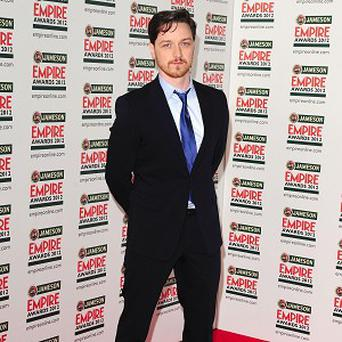 James McAvoy is to star alongside Jessica Chastain