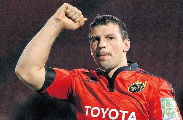 Denis Leamy is the latest Munster player to call time on his career because of injury
