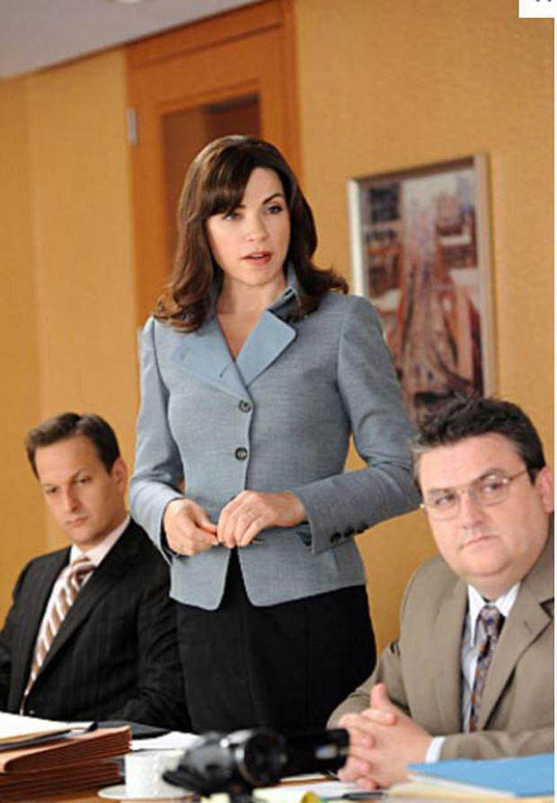 Simon Delaney in a guest appearance on The Good Wife