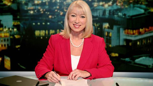 Anne Doyle gave her final broadcast on Christmas night.