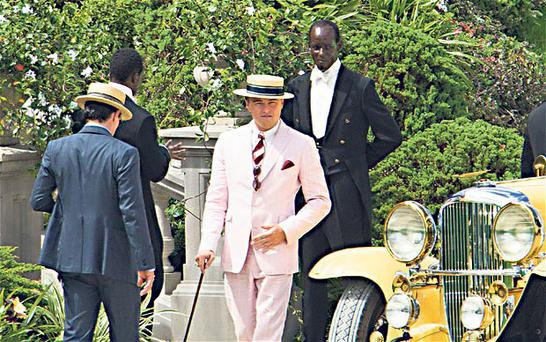 Old Sport: Leonardo DiCaprio stars in a new film version of one of the all-time great novels, written by Scott Fitzgerald