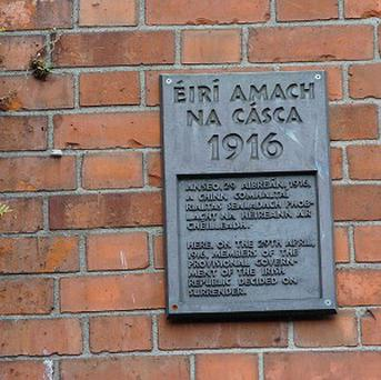 No 16 Moore Street, the headquarters of the 1916 Rising