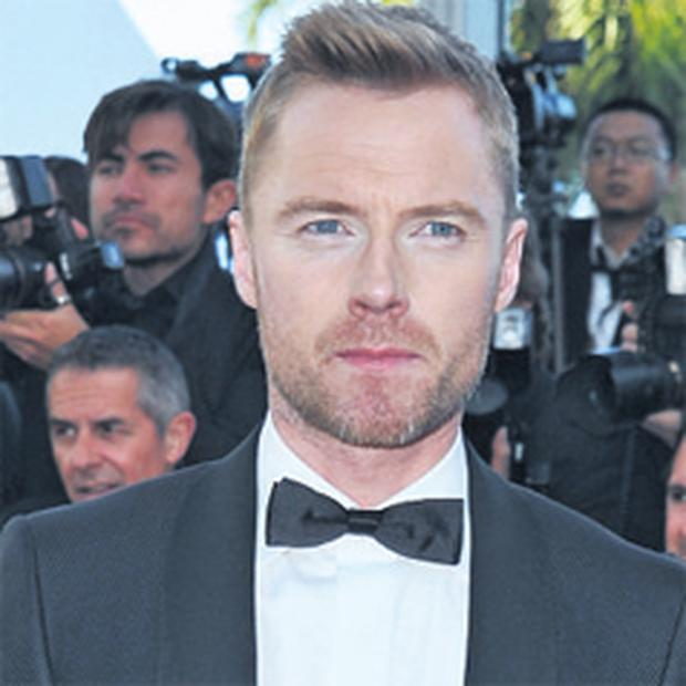 Ronan Keating – on the red carpet at the Cannes Film Festival in France – is keen to land more film roles