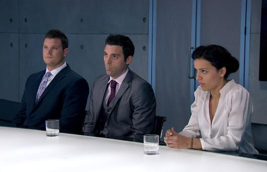The Apprentice 2012: Ricky, Stephen and Gabrielle face Lord Sugar's inquest after the luxury deals task.