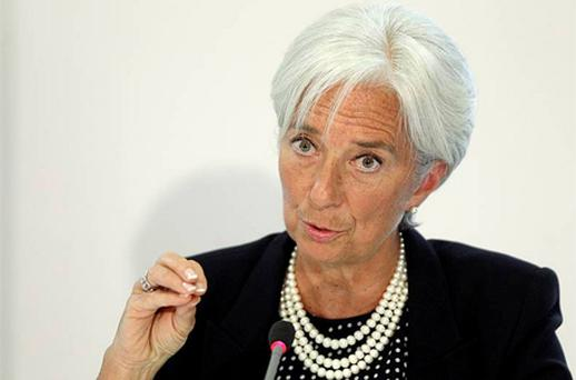 International Monetary Fund managing director Christine Lagarde. Photo: Reuters