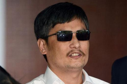 Chen Guangcheng. Photo: AP