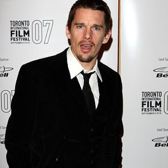 Ethan Hawke is off for a spot of time-travelling in his latest film project