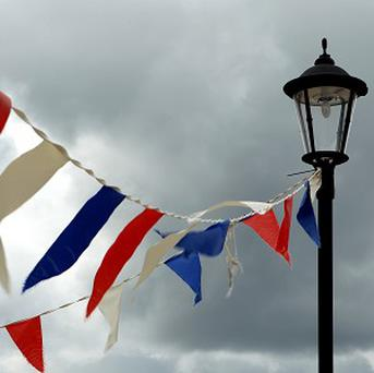 Burnham-on-Sea will not be allowed to hang bunting from lamp posts or street furniture to celebrate the Queen's Diamond Jubilee
