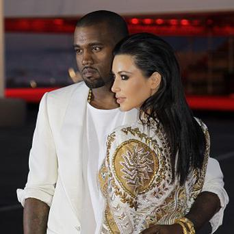 Kanye West and Kim Kardashian at the screening of Cruel Summer in Cannes (AP/Francois Mori)