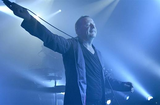 Simple Minds perform at the Replay & Simple Minds Concert at Hotel Martinez on May 22, 2012 in Cannes. Photo: Getty Images