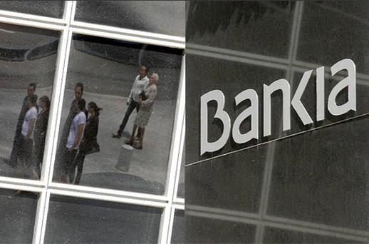 Shares in Bankia have fallen more than 70pc since its listing in July 2011. Photo: Reuters