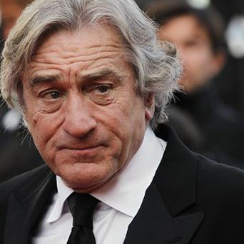 Robert De Niro was a hit with students in Maine