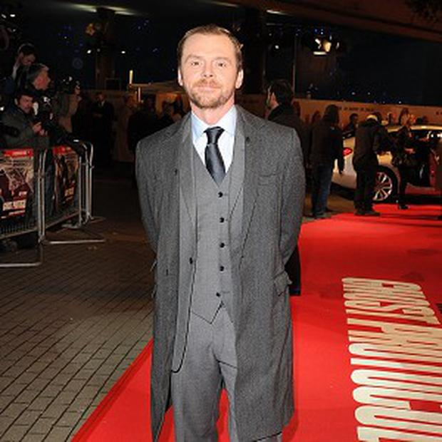 Simon Pegg says his new film will be about an epic pub crawl