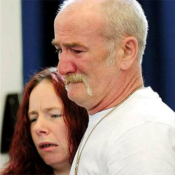 Mick Philpott and wife Mairead who are being held on suspicion of murder following an arson attack at their home which left six of their children dead. Photo: PA