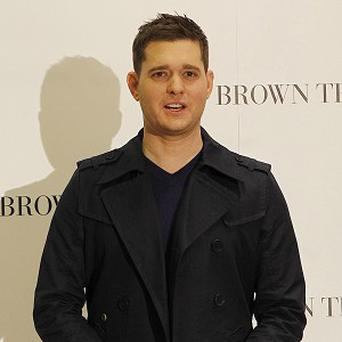 Michael Buble has to make do with Skype dates with his wife while he is touring