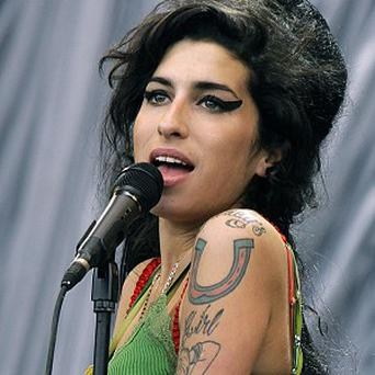 A self-portrait by singer Amy Winehouse is to be auctioned later this week