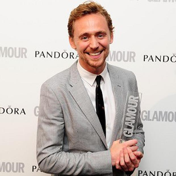 Tom Hiddleston was named Man of The Year at the Glamour bash