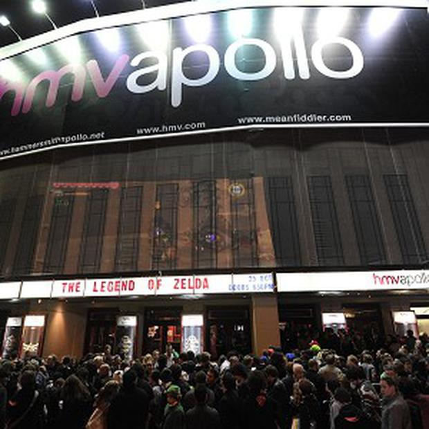 The Hammersmith Apollo, where David Bowie played his last gig as Ziggy Stardust, has been sold by owner HMV