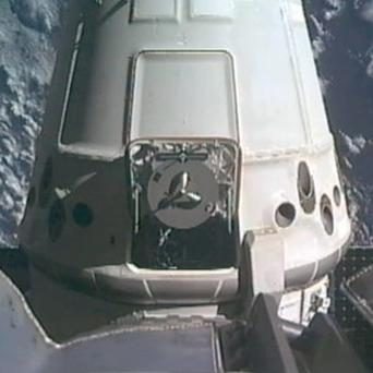The SpaceX Dragon capsule begins its journey back to Earth(AP/NASA)