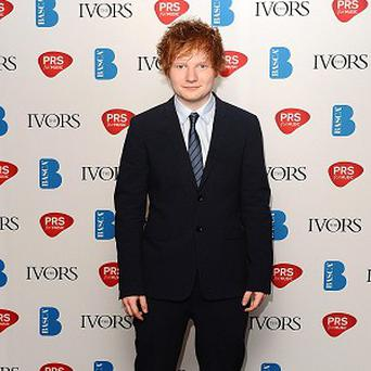 Ed Sheeran has been writing songs with Taylor Swift