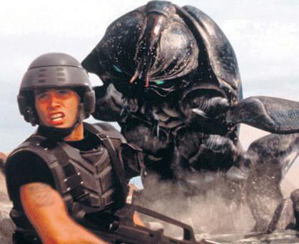 Ballot the blue sky: I subscribe to the Starship Troopers line that voting is the use of force