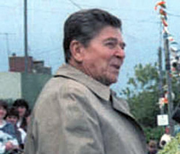 Ronald Reagan: then-US president in Tipperary