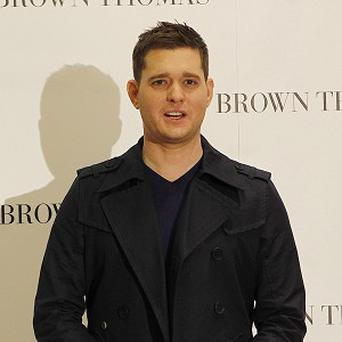 Crooner Michael Buble is to pick up the international prize at this year's O2 Silver Clef Awards