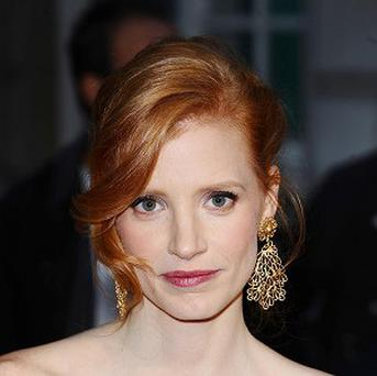 Jessica Chastain is to help hand out the awards at the Tonys