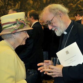 The Archbishop of Canterbury said the Queen 'can be extremely funny in private'