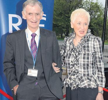 SMALL WORLD: Tom Savage and his wife, Terry Prone. The couple own the PR firm The Communications Company, which advised Catholic clergy in the wake of the 'Prime Time Investigates' programme that had been aired by the State broadcaster of which Mr Savage is chairman