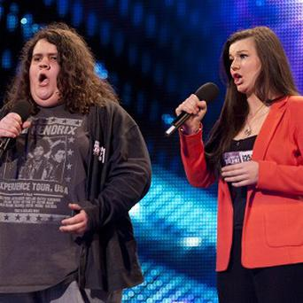 Jonathan and Charlotte found fame on Britain's Got Talent