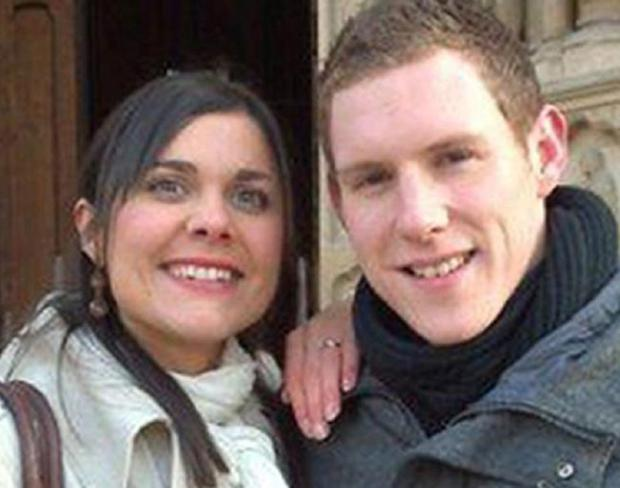 Michaela McAreavey death...Undated McAreavey Family handout photo of John and Michaela McAreavey outside Notre Dame Cathedral in Paris, France, as four hotel workers will appear in court in Mauritius today in connection with the murder of Michaela McAreavey, who was strangled on her honeymoon. PRESS ASSOCIATION Photo. Issue date: Wednesday January 19, 2011. All the men are staff at the luxury complex on the island where the 27-year-old was staying. See PA story IRISH Mauritius. Photo credit should read: McAreavey Family handout/PA Wire ...A