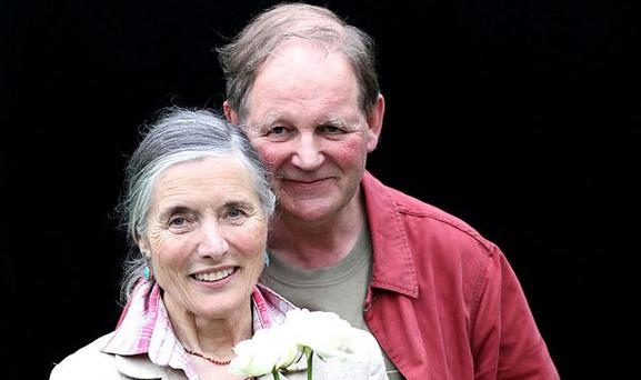 Michael Morpurgo, with his wife Clare