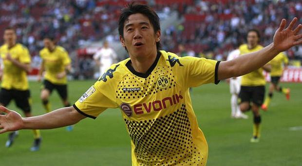 Manchester United have confirmed a deal with Shinji Kagawa from Borussia Dortmund
