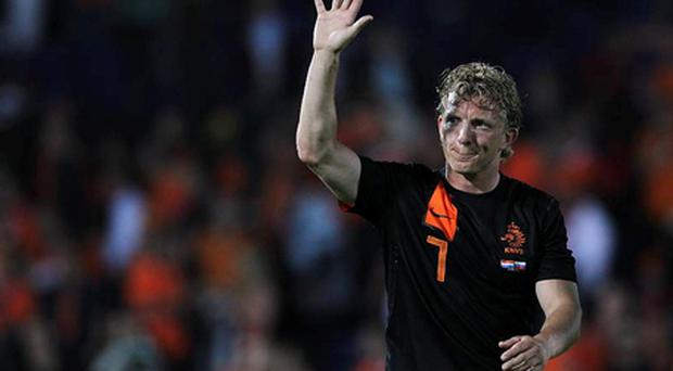 Dirk Kuyt: signed for Turkish club Fenerbahce.Photo: Getty Images