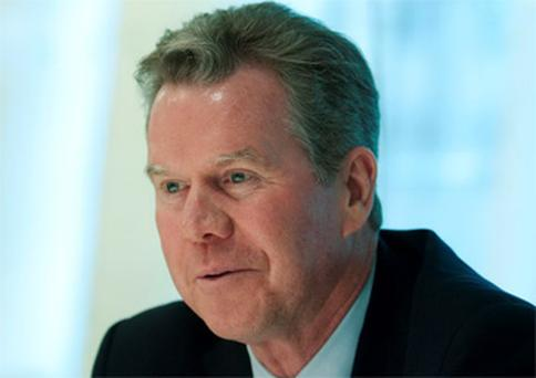 Liam McGee, chief executive officer of Hartford Financial Services Group
