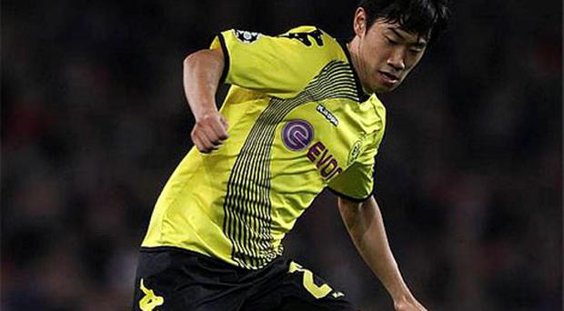 Manchester United have confirmed they have agreed terms for the transfer of Shinji Kagawa from Borussia Dortmund. Photo: PA