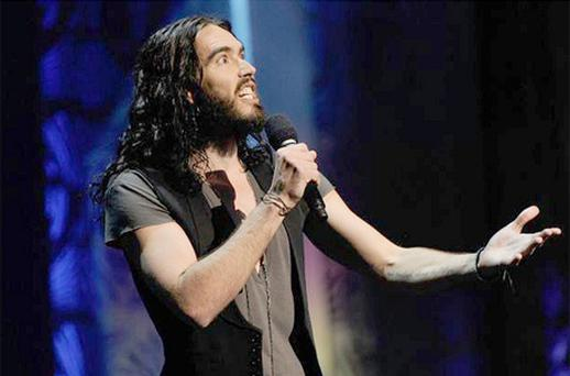 Russell Brand retreated from British broadcasting following a series of prank telephone calls he made with Jonathon Ross to the actor Andrew Sachs. Photo: Getty Images