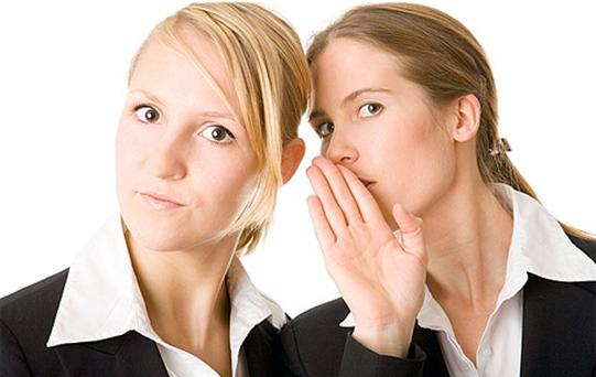 Negative gossip was 2.7 times more common than positive gossip in a study of thousands of company emails